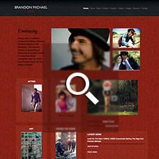 Brandon Michael - Actor websites by Mixform