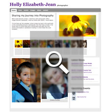 Holly Elizabeth-Jean - Photographer websites by Mixform