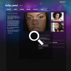 Kellye Janel - Actor websites by Mixform