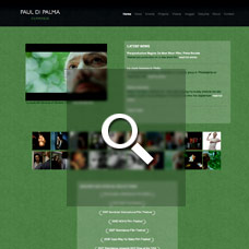 Paul Di Palma - Filmmaker websites by Mixform