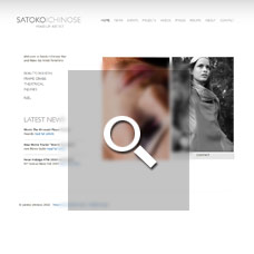 Satoko Ichinose - Make-Up Artist websites by Mixform