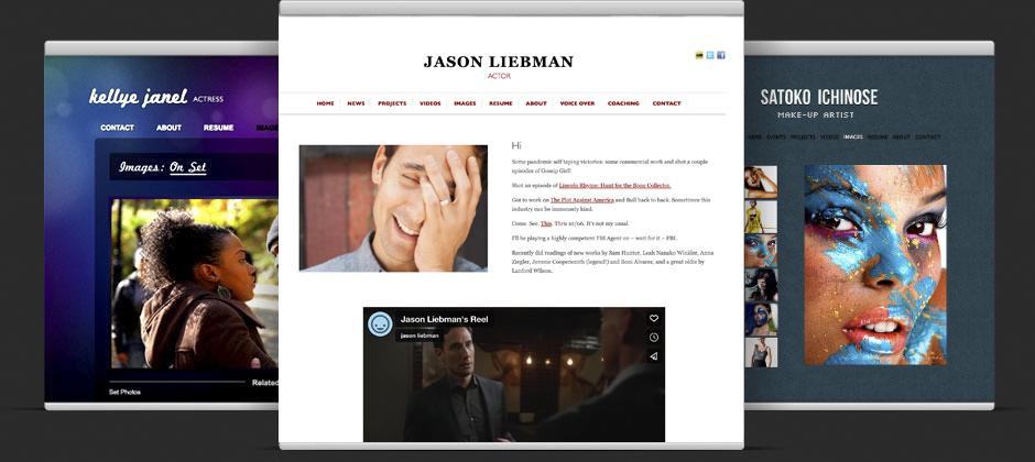 Free Actor Websites Filmmaker Portfolios And Visual Artists Web Sites